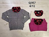 Свитер для девочек оптом, размеры  4-12 лет, Nice Wear, арт. GJ 957
