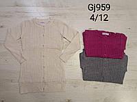 Свитер удлинённый  для девочек оптом, размеры  4-12 лет, Nice Wear, арт. GJ 959