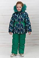 Комбинезон зимний для девочки.Куртка и полукомбинезон., фото 1
