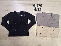 Свитер для девочек оптом, размеры  4-12 лет, Nice Wear, арт. GJ 970