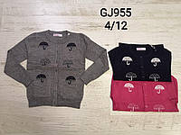 Свитер для девочек оптом, размеры  4-12 лет, Nice Wear, арт. GJ 955