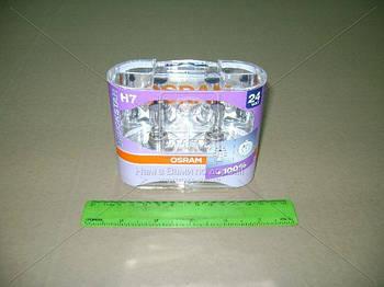 Лампа H7 24V 70W PX26d Light TruckStar (+100%) Hard DuoPET (2 шт) (пр-во OSRAM) (арт. 64215TSP-HCB-DUO)