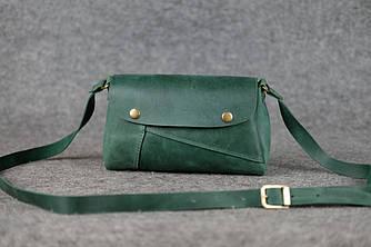 """Женская сумка """"Френки"""" Винтажная кожа цвет Зеленый"""