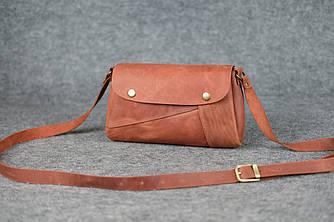 """Женская сумка """"Френки"""" Винтажная кожа цвет Коньяк"""