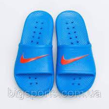 Тапки дет. Nike Kawa Shower (GS/PS) (арт. BQ6831-400), фото 1