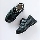 Кожаные туфли-кроссовки,  р. 26-31. Черные, демисезонные, фото 7