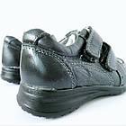 Кожаные туфли-кроссовки,  р. 26-31. Черные, демисезонные, фото 9