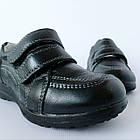 Кожаные туфли-кроссовки,  р. 26-31. Черные, демисезонные, фото 10