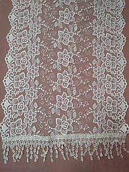 Свадебный шарф (шаль) для невесты айвори, венчальный шарф