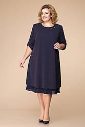 Платье женское Беларусь модель Р-1727-18 синее