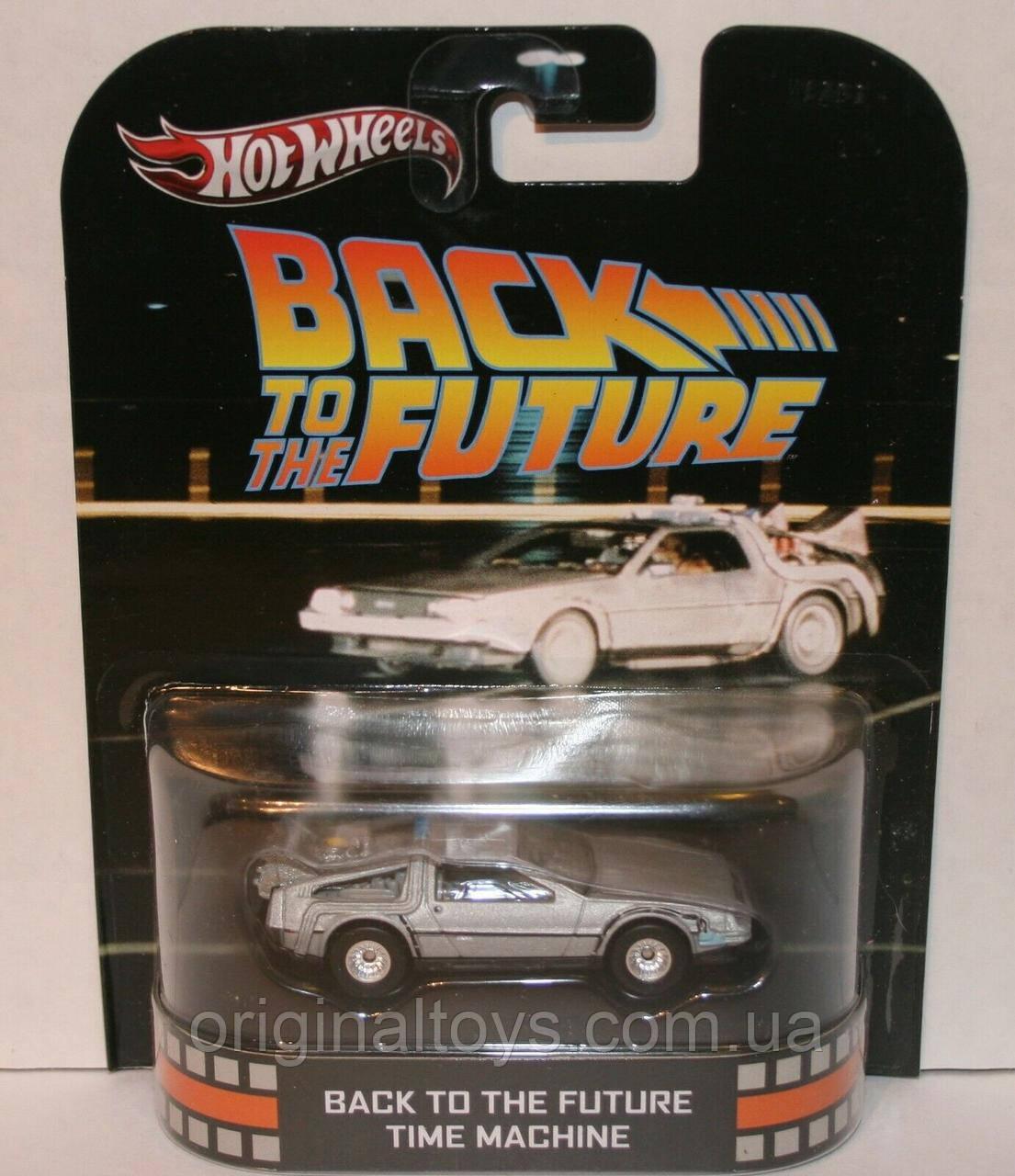 Коллекционная машинка Hot Wheels  Back to the Future Time Machine