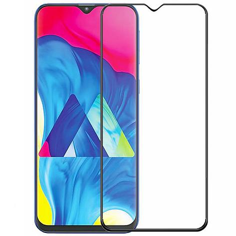 Защитное стекло Samsung J600 Galaxy J6 2018 Full Glue черное (тех упаковка), фото 2
