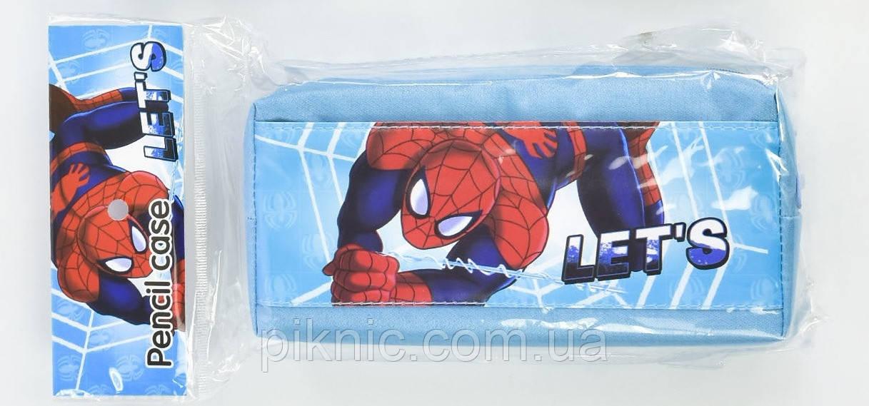 Школьный пенал Человек Паук. Только при покупке рюкзака.