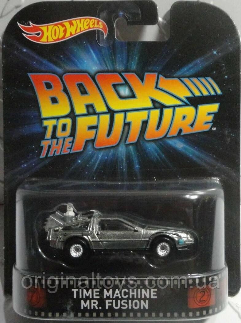 Коллекционная машинка Hot Wheels  Back to the Future Time Machine Mr. Fusion