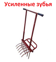 Чудо-лопата УСИЛЕННАЯ ЗЕМЛЕКОП 6/7/8 зубьев (регулируемая)!