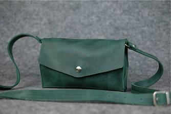 """Женская сумка """"Модель №24"""" Винтажная кожа цвет Зеленый"""