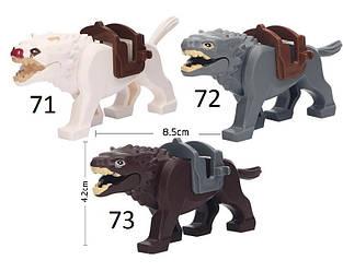 Властелин колец Lord of the Rings мини-фигурки Лего Lego волк гиена