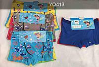 Трусики для мальчиков оптом, Happy Boy, 2/4-8/10 лет,  № YQ413