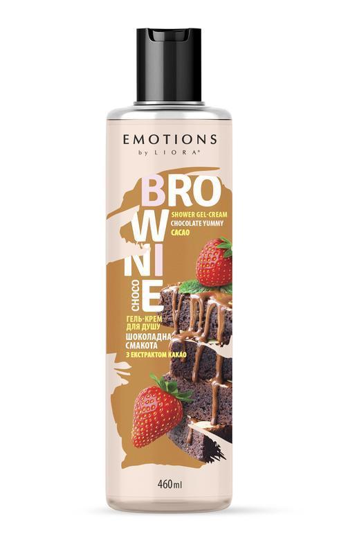 Гель для душа Velta-cosmetic Liora Chocolate brownie 460 мл