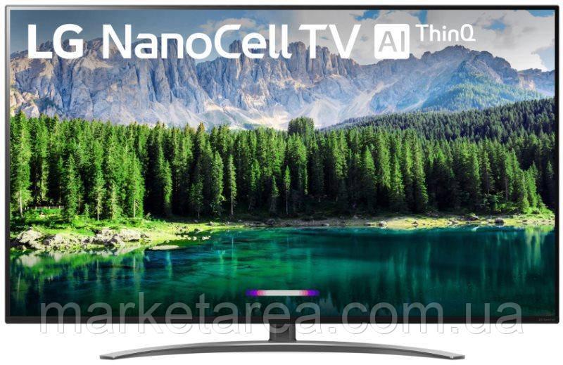 Телевизор лж 55 дюйма 4К со смарт тв черный, тонкий LG 55SM8600