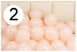 """Воздушные латексные шары """"Macaron""""12""""(30см) Персик Макарун, В упак:100 шт. Пр-во: Китай"""