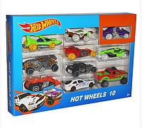 Игровой набор игрушечных машинок.Набор игрушечных машинок металлических.