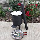 Комплект на 22л казан, вогнище з димоходом., фото 5