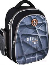 Рюкзак школьный Cool for school EVA 5 Steel 733 Черный с синим (CF86092)