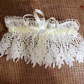 """Подвязка для невесты """"Wedding"""""""