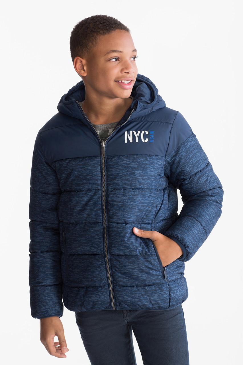 Демисезонная куртка для мальчика подростка C&A Германия Размер 152