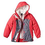 Женская термо куртка ZeroXposur 3 в 1 - зимняя, лыжная, демисезонная (США). Размер S
