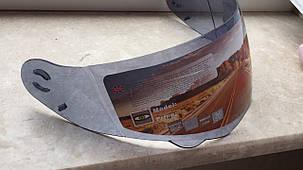 Тонированный визор под мото шлем модуляр трансформер  Fxw 119, фото 2