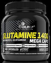 Глютамін Olimp Labs L-Glutamine 1400 mega caps 300 caps