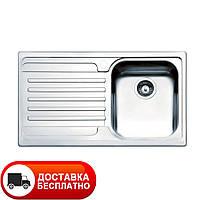 Кухонная мойка Apell Venezia VE861ILBC LEFT brushed 86*50