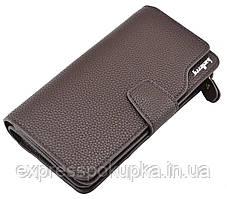 Мужской кошелёк портмоне Baellerry Business Коричневый