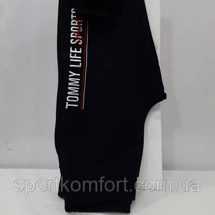 Женские спортивные штанишки, Турция,  TOMMY LIFE, чёрные., фото 2