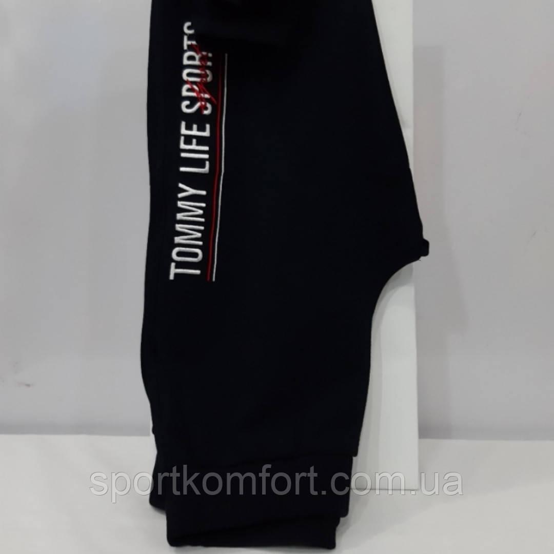 Женские спортивные штанишки, Турция,  TOMMY LIFE, чёрные.