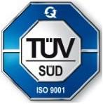 TUV SUD Management Service GmbH, ISO 9001:2008.
