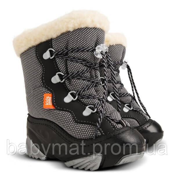 Сноубутсы  Demar SNOW MAR черные р 24/25 16 см