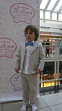 Детские нарядные брюки для мальчика BABY A Италия B0833T беж