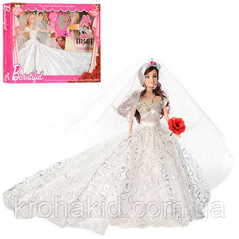 Кукла невеста 199 /Кукла невеста типа барби с аксессуарами, фото 2