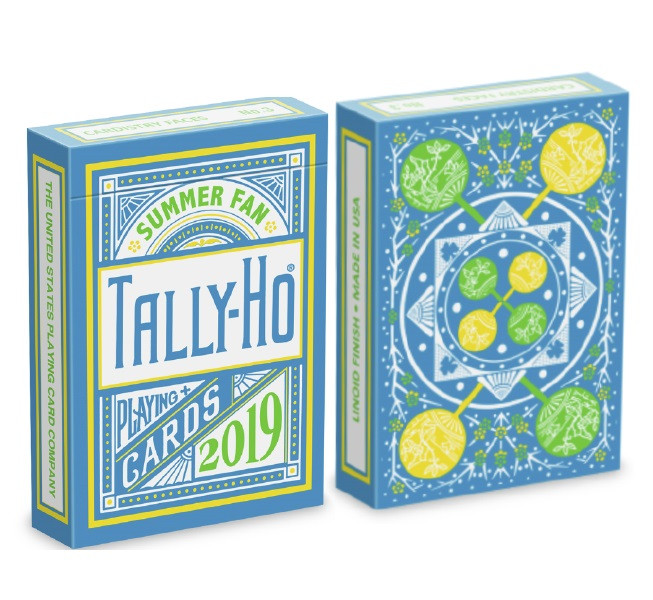 Карты игральные | Tally Ho Fan Back Summer Playing Cards