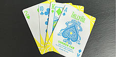 Карты игральные | Tally Ho Fan Back Summer Playing Cards, фото 2