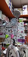 Лампа лупа Лед на струбцине для косметолога, визажиста, для мастера маникюра, высота 80см, фото 1