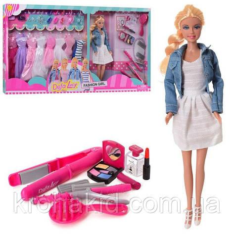 Игровой набор кукла Defa Lucy 8426-BF / Кукла Defa Lucy с нарядами и аксессуарами, фото 2
