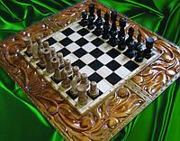 """Шахматы - нарды """"Тигр"""" + шкатулка"""