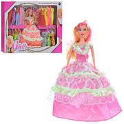 Кукла с нарядами YT12019 / Кукла типа барби с набором платьев