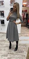 Платье женское с поясом  руд258, фото 1