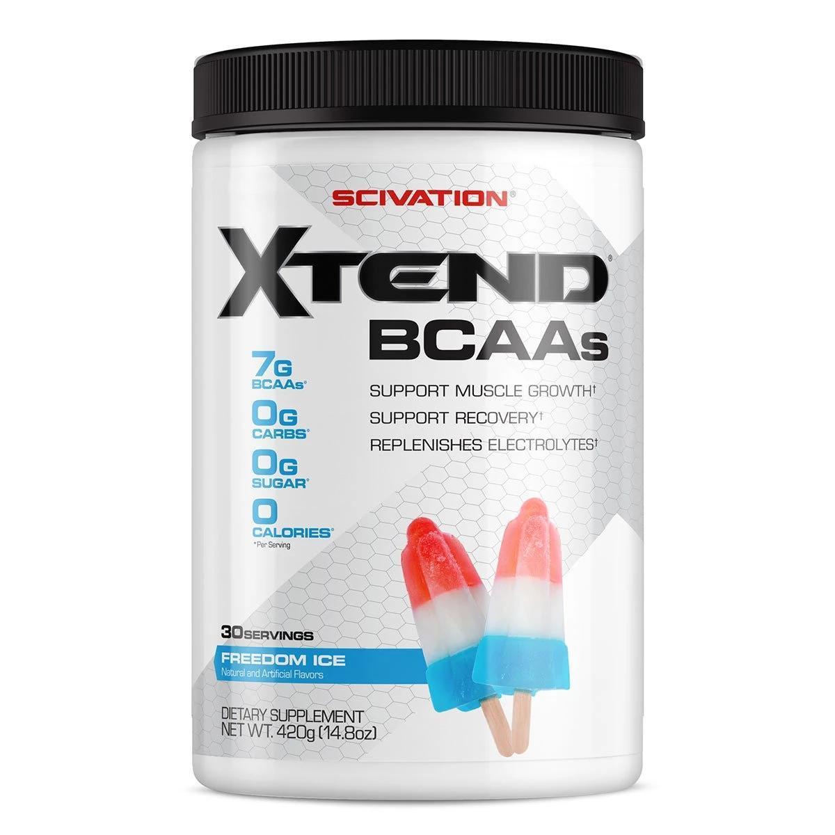 Лучшие БЦАА Scivation Xtend BCAA 420g 30 servings