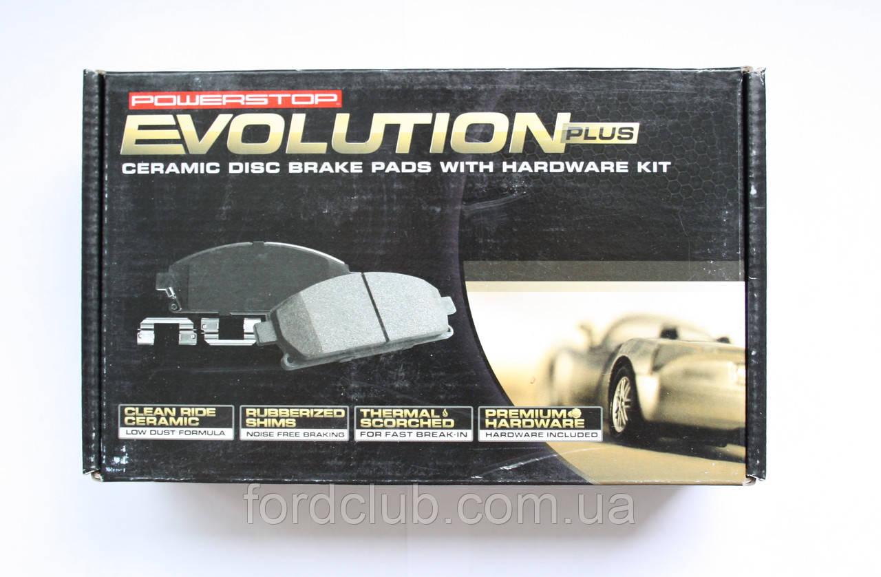 Задние колодки Ford Fusion USA Power Stop Z17 Evolution Clean Ride Ceramic для всех комплектаций